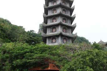 A pagoda on Marble Mountain.