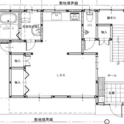 【売買】350万円 香川県観音寺市西本町 河口沿いで眺めのよい2階建 上下水道・IHコンロ
