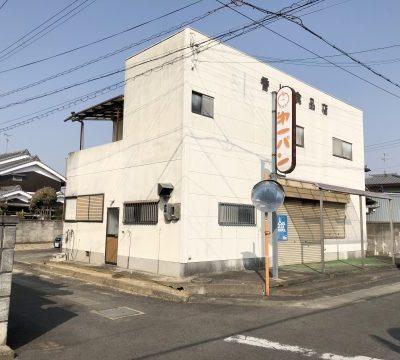 【売買】250万円 奈良県磯城郡川西町梅戸 ビルトインガレージと多目的(店舗)スペースがある2階建