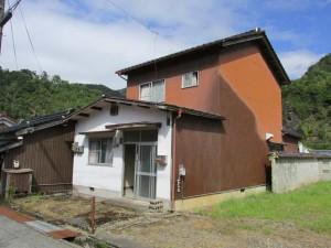 【売買】150万円 兵庫県朝来市生野町奥銀谷 のどかな住宅地 庭・物置付き2階建