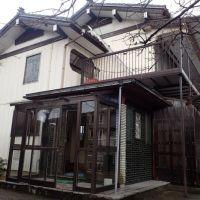 (価格変更)【売買】180万円 新潟県岩船郡関川村大字安角 自然豊かな集落にある 物置兼車庫・2面バルコニー付き2階建
