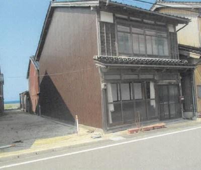 【賃貸】2.5万円 鳥取県東伯郡大山町御来屋 海に近いエリアの2階建町屋 駐車場有