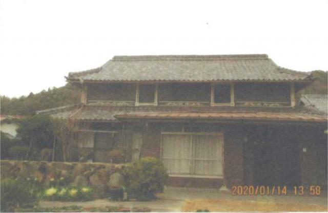 【売買】300万円 香川県さぬき市鴨庄 のどかな田園集落 駐車場付き2階建古民家 家庭菜園可