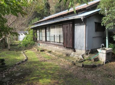 (成約済)【賃貸】3万円 静岡県賀茂郡西伊豆町宇久須 自然に囲まれた縁側・庭・物置付き平屋