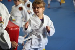 Ages 5 to 7 karate at AK Martial Arts & Fitness in Bressi Ranch