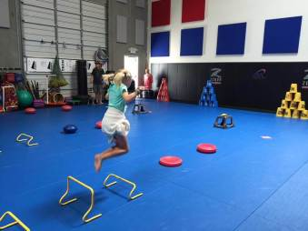 youth fitness and agility