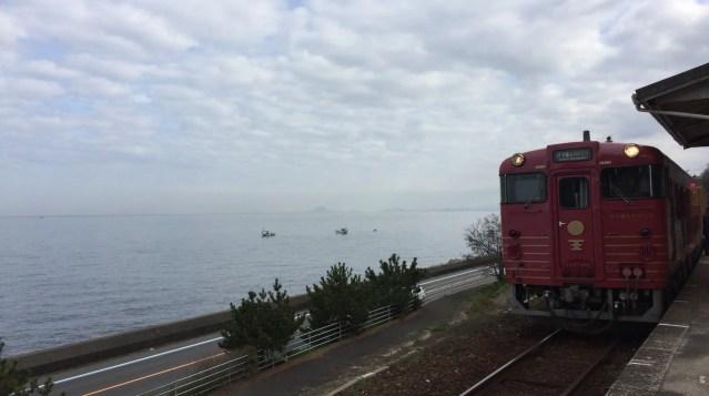 四国の観光列車②「伊予灘ものがたり」