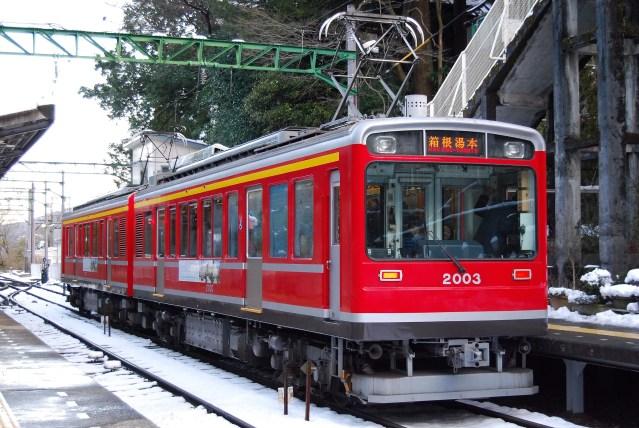 箱根登山鉄道の103-107編成が引退へ