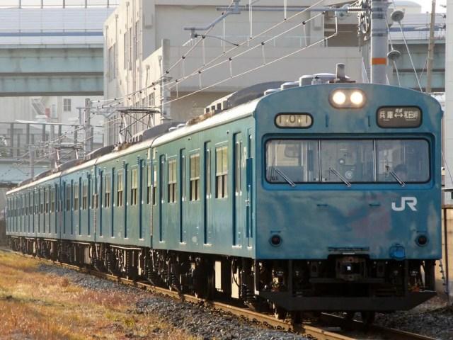 JRW series103 Wadamisaki - 大阪環状線の201系引退へ