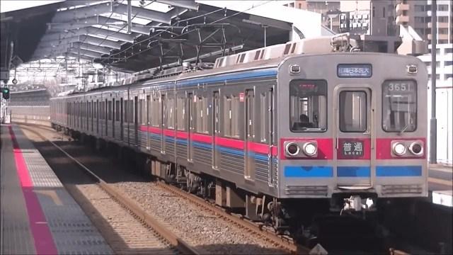 引退間近の3600形、北総鉄道へ入線!