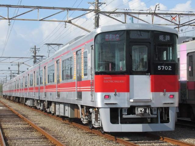 阪神電鉄車庫内で脱線事故、不運な山陽電鉄5703F