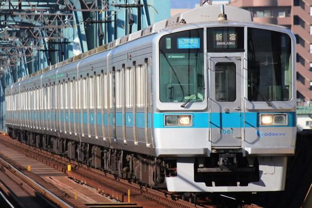 小田急1000形唯一の8両編成1081Fが廃車に