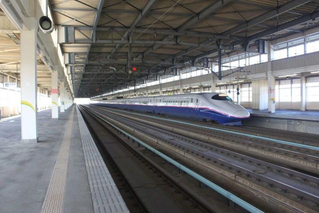 一ノ関駅新幹線ホームで有名撮り鉄が脚立を設置、駅員と口論に