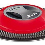 Vileda 149932 Virobi Slim, besonders flacher Staubwischroboter mit elektrostatischen Staubpads - gelangt auch an schwer erreichbare Stellen - 1