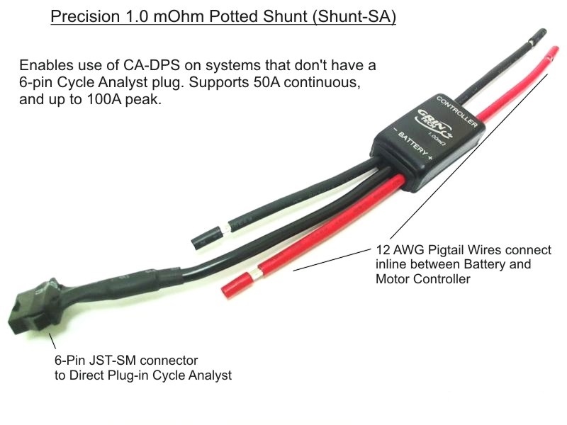 Cycle Analyst Shunt-moduuli