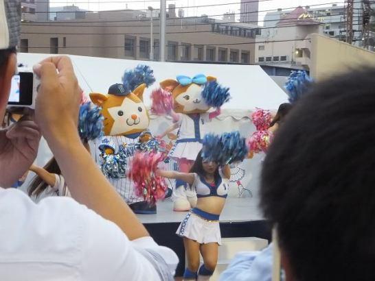スターマン&キララ(横浜DeNAベイスターズマスコットキャラ)