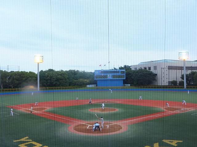 伊藤拓郎投手:横須賀スタジアムのマウンドで