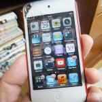バッキバキの私のiPod touch4・・・