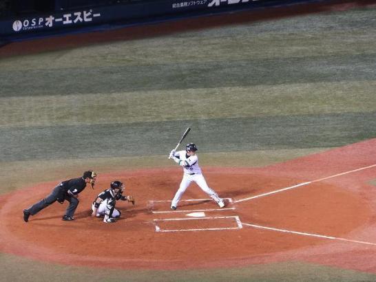 横浜DeNA山崎憲晴選手:横浜スタジアム