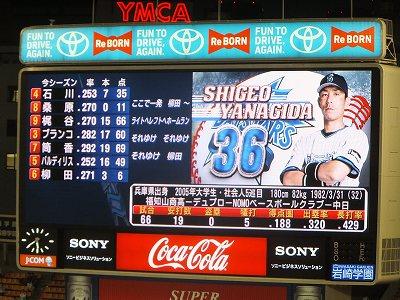 柳田殖生選手:横浜DeNAベイスターズ