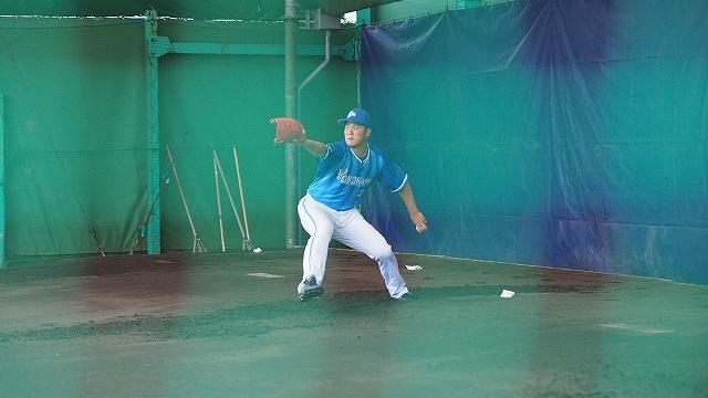 福地元春投手のピッチングフォーム:宜野湾キャンプ