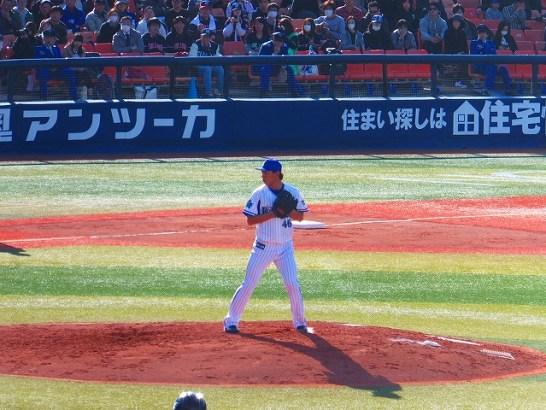 左のセットアッパーとして期待がかかる田中健二朗投手