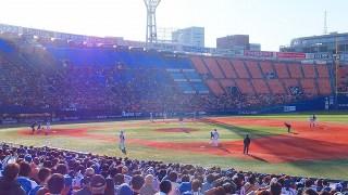 9回ウラ1アウト満塁で横浜DeNA:代打山下