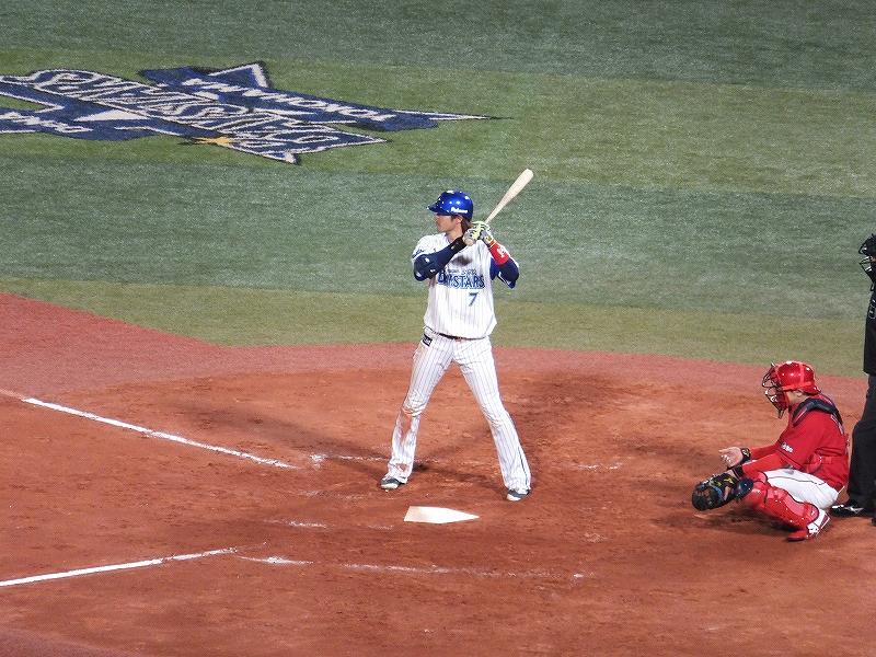2番に器用な石川選手:横浜DeNAベイスターズ