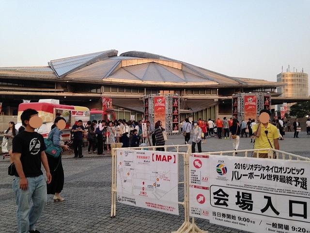 リオデジャネイロオリンピック最終予選応援に東京体育館へ!