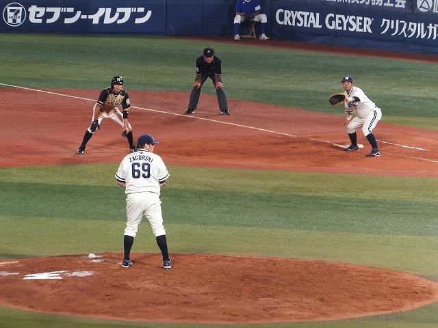 横浜DeNA:マイクザガースキー:ランナーが気になりまくる