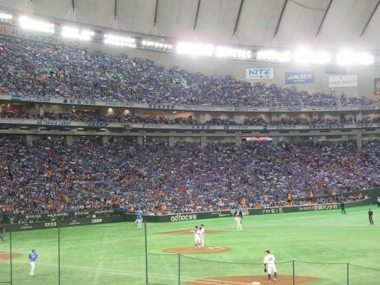 東京ドームの売り子バイトは稼げる条件勢ぞろい!