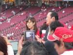 プロ野球の応援ユニホームを着た女の子がかわいい!