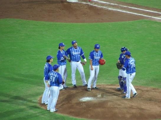 負け投手になった横浜DeNA先発の三嶋投手:クライマックスシリーズ