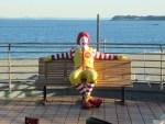 三浦海岸の海が見えるマクドナルドに感動?!景色サイコー!【写真】