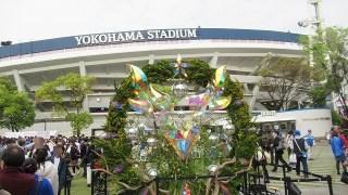 横浜スタジアム:ガールズフェスティバル2017の様子