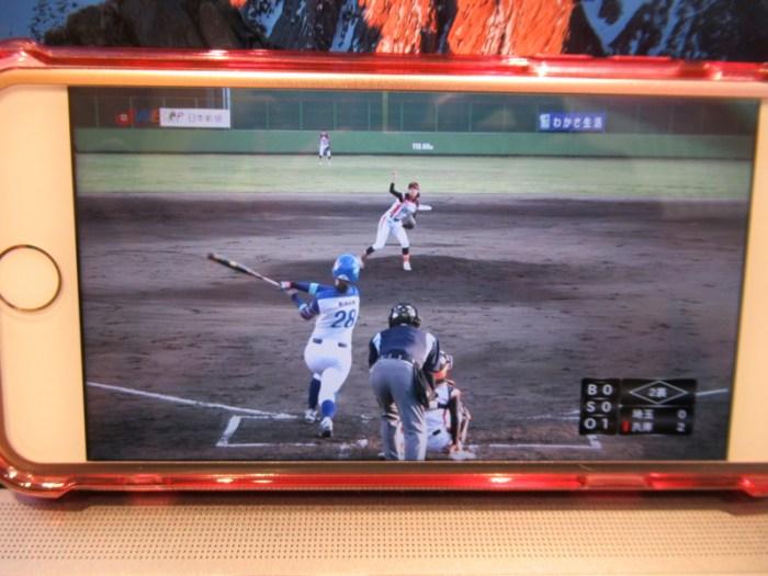 みなみ選手のホームラン:女子プロ野球