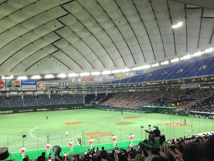 都市対抗野球準決勝の様子2017東京ドーム