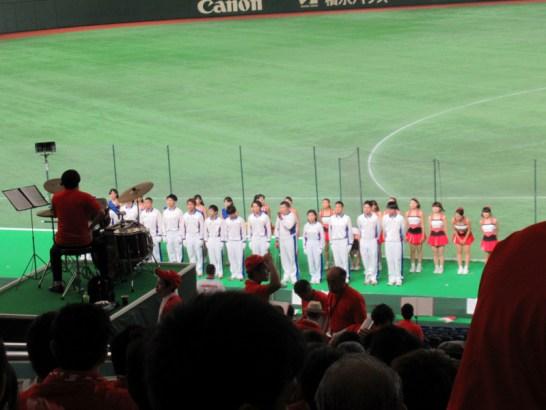HONDAの応援団の挨拶・都市対抗野球_東京ドーム