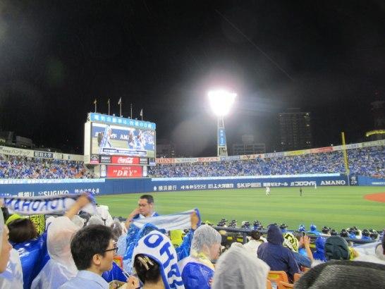 横浜スタジアム内野FB席3塁側からの景色:ビュー