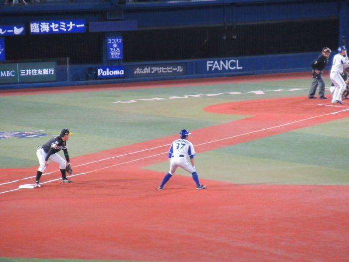 初回先頭桑原出塁!2017年横浜スタジアム日本シリーズ第3戦