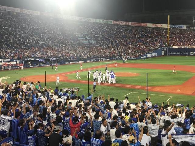 倉本ヒットでサヨナラ勝ち!