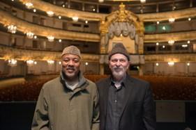 Alonzo King and Robert Rosenwasser, photo by Franck Thibault