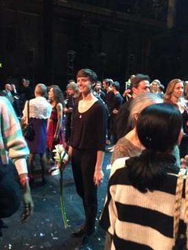 LINES Ballet Master Meredith Webster on stage