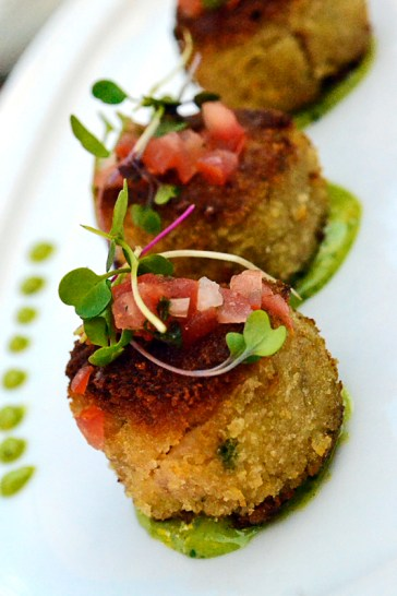 Crab Cakes from Wolfgang Puck's Postrio