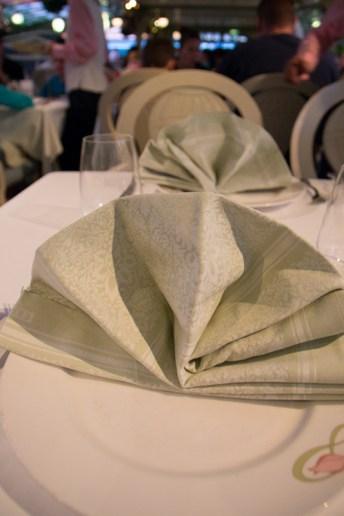 Enchanted Garden napkin
