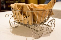 Royal Court bread basket