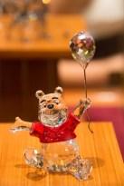 Chrystal Winnie the Pooh figure