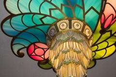 Disney Fantasy lobby chandelier