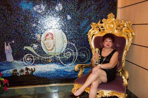 Cinderella tiled mosiac