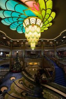 Disney Fantasy lobby